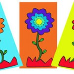 """Taller Infantil """"Marcapáginas de flor"""", miércoles 22 de abril"""