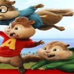 """Cine Infantil """"Alvin y las ardillas 4. Aventura sobre ruedas"""", domingo 28 de febrero"""