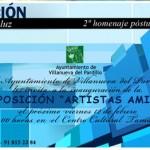 "Exposición ""Artistas amigos"", 2º homenaje póstumo a Luis Parra Supervia"