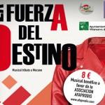 """Musical """"La fuerza del destino"""", sábado 12 de marzo"""