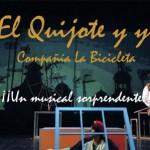 """Teatro Musical Infantil """"El Quijote y yo"""", domingo 10 de abril"""
