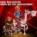 Celebra el día del libro con nosotros viniendo al teatro. IV Centenario de la Muerte de Cervantes, sábado 23 de abril