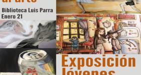Ventanas al Arte: exposición de los dibujos de jóvenes artistas