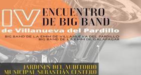 IV Encuentro de Big Band, nueva fecha. Domingo 27 de junio'21